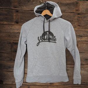 North Face Pullover Hooded Sweatshirt Yosemite